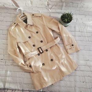 Zara Trench Coat Jacket Size Xlarge Xotton